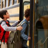 Driving Safely Near School Buses